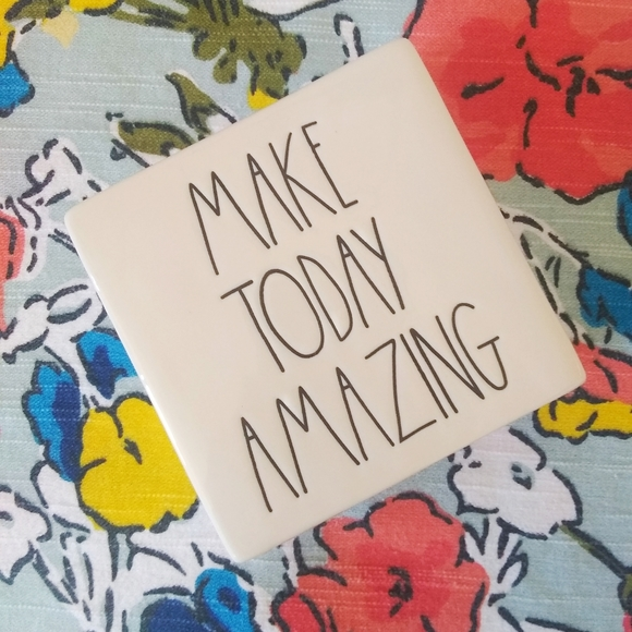 SALE! Rae Dunn Make Today Amazing Paperweight
